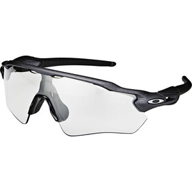 Oakley Radar EV Path Lunettes de soleil, steel/clear black iridium photocromic